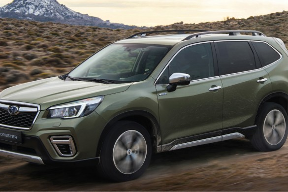 ALL NEW SUBARU FORESTER HYBRID
