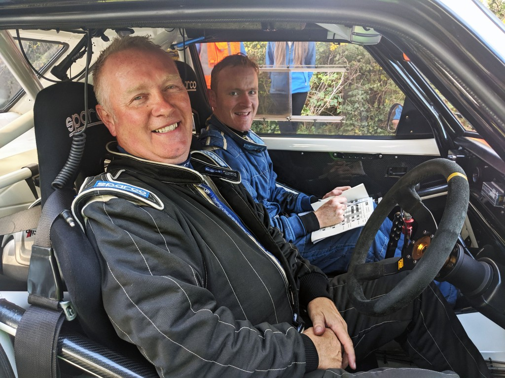 2019 McGrady Insurance Motorsport UK N.I. Rally Championship 2WD CHAMPIONS John Devlin and John McCarthy