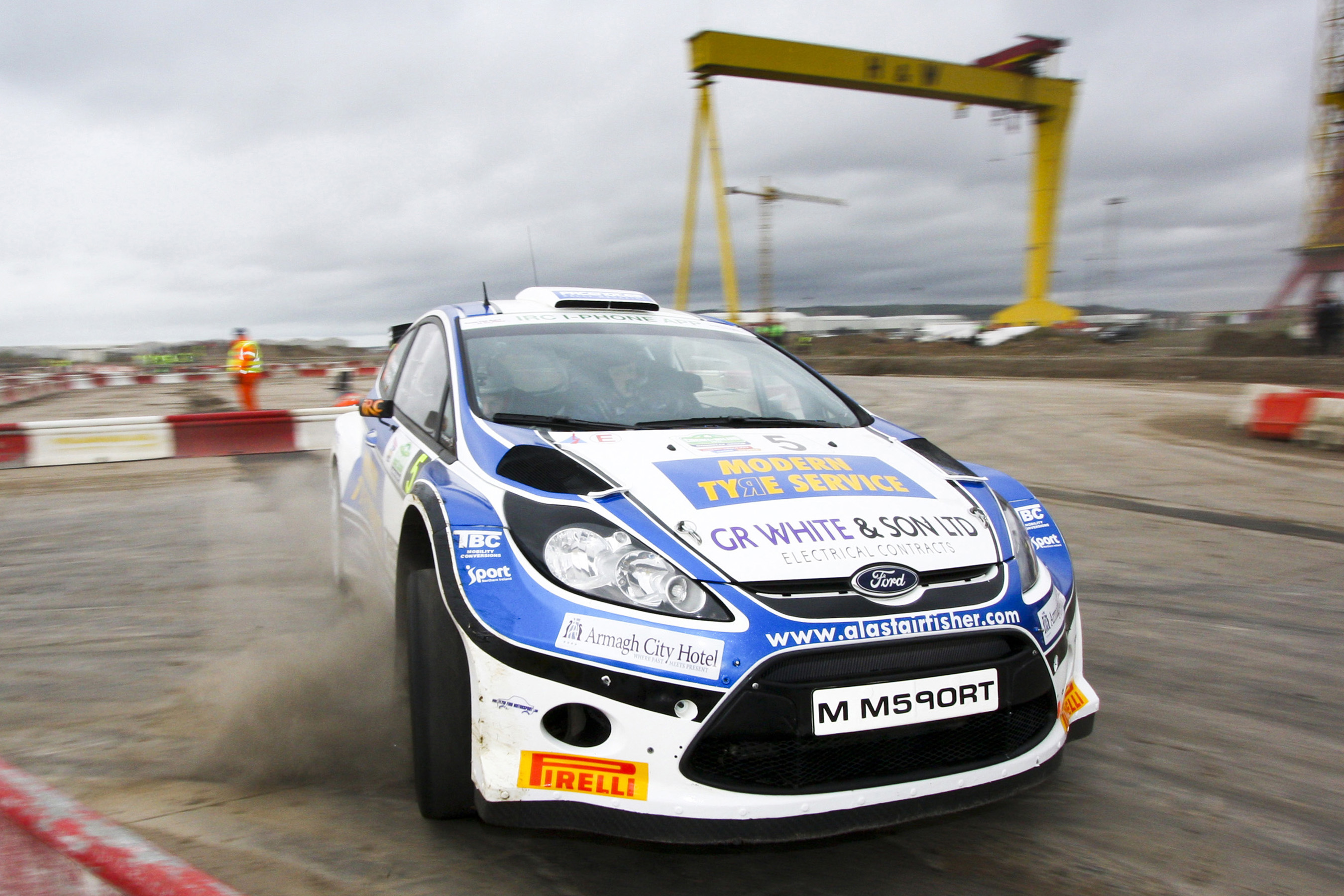 BELFAST TO HOST OPENING ROUND OF BRC IN 2021...   Used ...